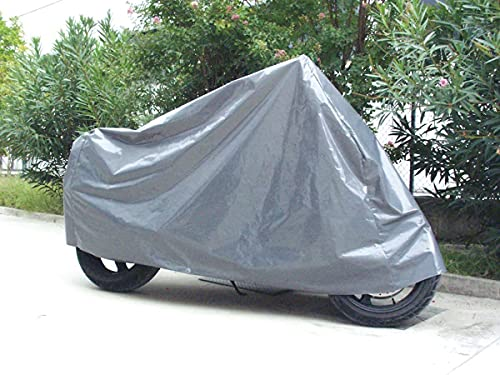 Cubierta Impermeable de la Motocicleta para Exterior, Resistente al Agua Polvo Lluvia Viento excrementos de Aves, para Scooter de Motocicleta Scooter Scooter (Medio 210X120cm)
