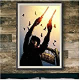 WEUEWQ Poster Filmplakat Der dunkle Turm Revolverheld