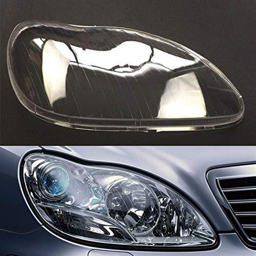 N\A Scheinwerferabdeckung Rückspiegelkappe Auto-Scheinwerfer-Scheinwerfer-Leiche-Auto-Shell-Cover 1998~2005 Scheinwerferlinse for W220 S500 S500 S320 S350 S280 Flügelspiegel deckt Spiegelschutz ab