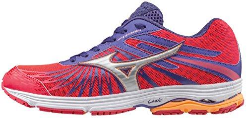 Mizuno Wave Sayonara 4 (w), Zapatillas de Running para Mujer, Rosa (Diva Pink/Silver/Liberty), 40 EU