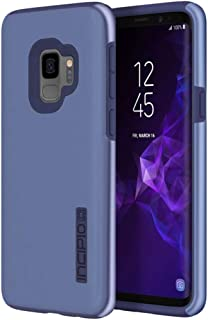 Incipio DualPro Samsung Galaxy S9 Case with Shock-Absorbing Inner Core & Protective Outer Shell for Samsung Galaxy S9 (2018) - Iridescent Light Blue