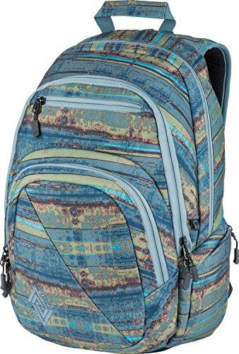 Nitro Stash Rucksack, Schulrucksack, Schoolbag, Daypack,  Frequency Blue, 49 x 32 x 22 cm, 29 L,