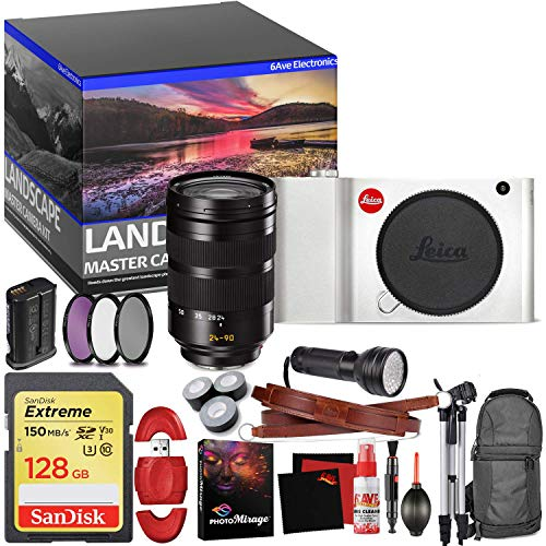 Great Features Of Leica TL Mirrorless Digital Camera (Silver) - Master Landscape Photographer Kit - ...