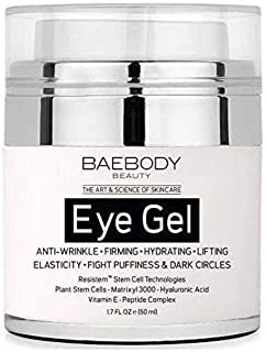 Baebody Eye Gel for Dark Circles, Puffiness, Wrinkles and Bags