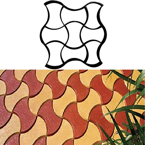 Sweo Simulation Pierre Pavement Patio B/éton Escalier All/ée Pavage Chemin Moule Pav/é Maker Jardin Cl/ôture Moule