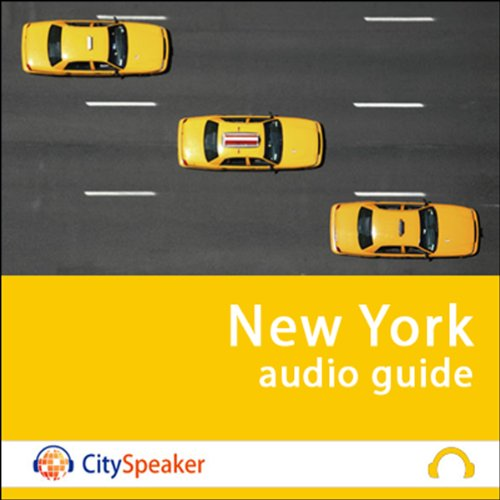 Couverture de New York (Audio Guide CitySpeaker)