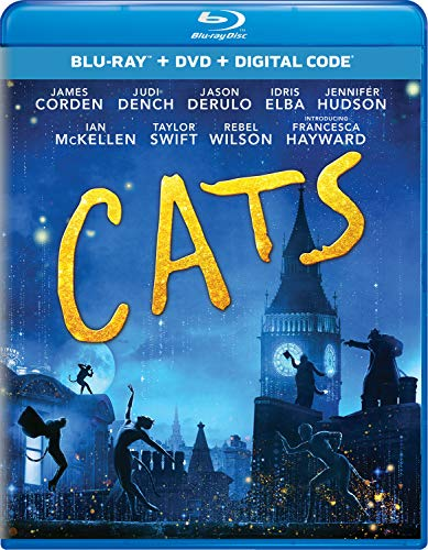 Cats (2019) Blu-ray + DVD + Digital - BD Combo Pack