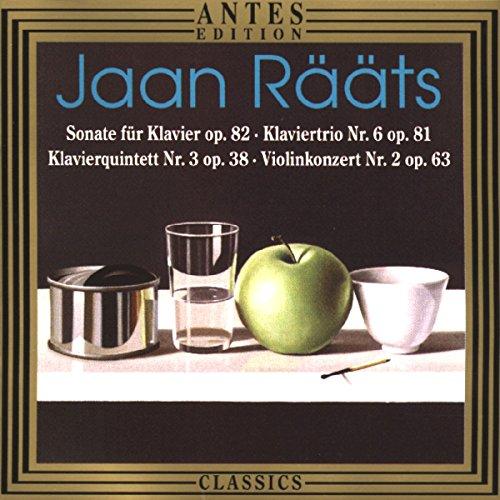 Rääts:Violinkonzert+Kammermusik