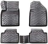 Elmasline Juego de alfombrillas de goma de diseño 3D para Kia Ceed III a partir de 2018, borde de 5 cm extra alto.