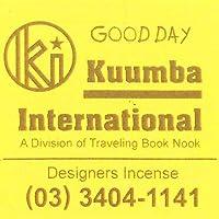 KUUMBA/クンバ『incense』(GOOD DAY グッデイ) (Mini size ミニサイズ)