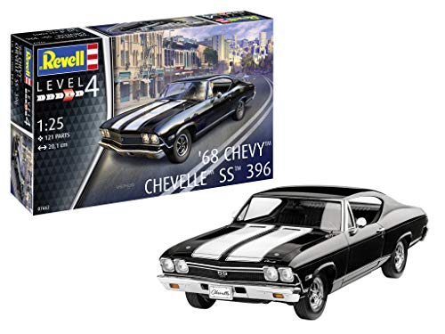 Revell-1968 Chevy Chevelle SS 396, Escala 1:25 Kit de
