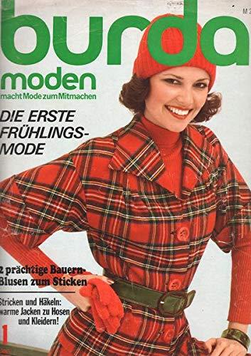 Burda Moden 01/1975 Die erste Frühlingsmode
