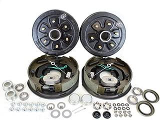 Southwest Wheel 3,500 lbs. Trailer Axle Self Adjusting Electric Brake Kit 6-5.5 Bolt Circle