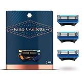 King C. Gillette Rasierklingen für Rasierer Herren mit Trimmer für Präzision