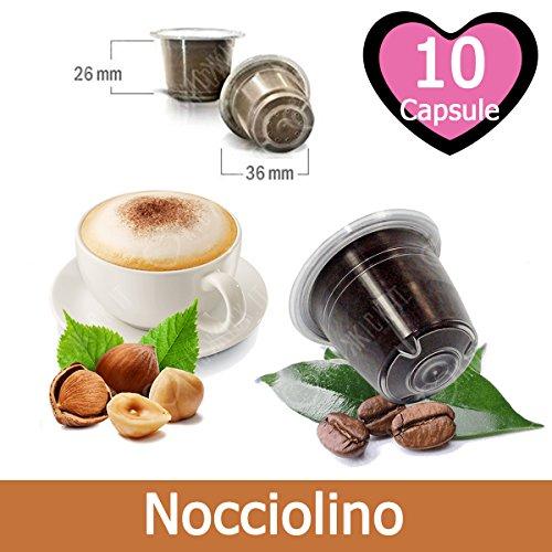 10 Capsule Nocciolino Compatibili Nespresso