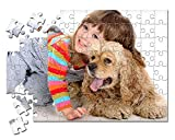 Puzzle Personalizado con tu Foto Impresión dpi - Fabricado en Europa - Bonito Brilloso Tus Puzzles con tu Imagen Preferida - Regalo para Bebes - Madres Bodas Parejas - Rompecabezas Novios
