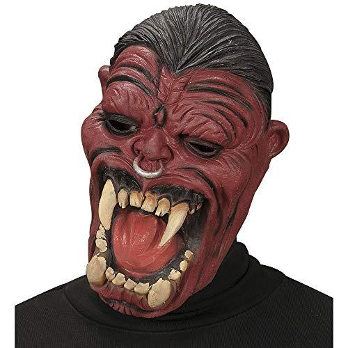 Widmann vd-wdm1331h Masque Hell Raiser, rouge, taille unique