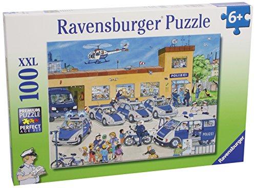 Ravensburger Kinderpuzzle 10867 - Polizeirevier - 100 Teile