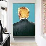 Leinwandmalerei Präsident Donald Trump Poster Nordischen