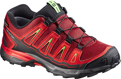 SALOMON X-Ultra GTX Junior Brique-x/Radiant red/Tonic Green