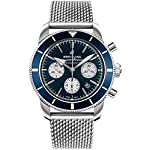 Breitling Watches Breitling Mens Superocean HÉRITAGE II B01 Chronograph 44mm AB0162161C1A1