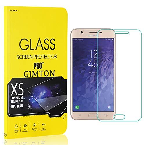 GIMTON Displayschutzfolie für Galaxy J7 2018, 9H Härte, Anti Bläschen Displayschutz Schutzfolie für Samsung Galaxy J7 2018, Einfach Installieren, 3 Stück