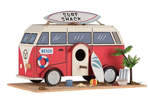 No Label Birdhouse Camper Caravan, Mehrfarbig, Nicht zutreffend