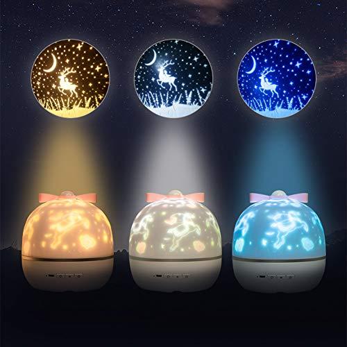 Taosheng Star Air Proyección LED noche luz regalo de cumpleaños