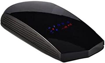 YHMY Radar Detectors Mouse Type Black Car Radar Detector English Russian Auto 360 Degree Vehicle Speed Voice Alert Alarm W... photo