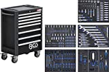 BGS 4113   Werkstattwagen Profi Standard   8 Schubladen   mit 234 Werkzeugen   gefüllt   abschließbar