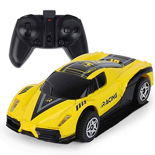 Modelo de coche 8.5x4x3cm Mini control remoto RC coche que sube escalador de la pared de radio RC niños Track Racer magia y adultos regalos de cumpleaños de carreras de Navidad de Colección Exclusiva