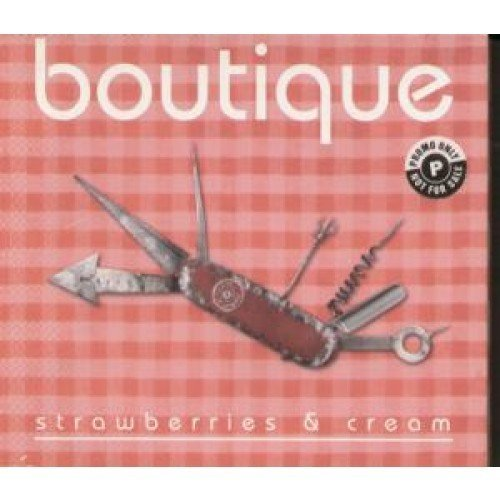 Strawberries And Cream CD UK Island 1996 by Boutique