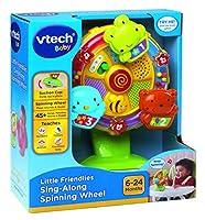 (one size) - VTech Baby Little Friendlies Sing Along Spinning Wheel
