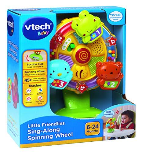 VTech Baby 165903 Little Friendlies Spinnrad zum Mitsingen, mehrfarbig