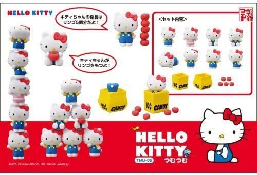 HELLO KITTY Regular discount Tsumu Stacking Game TMU-06 Limited time for free shipping