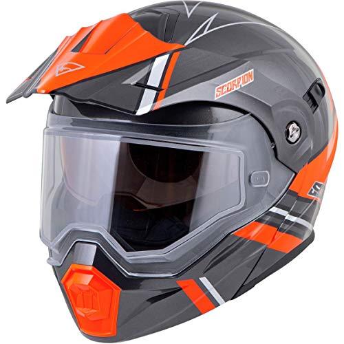 Casco De Moto Naranja  marca ScorpionEXO