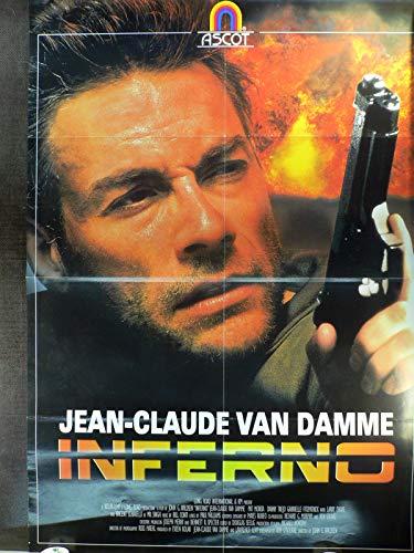 Inferno - Jean-Claude Van Damme - Videoposter A1 84x60cm gefaltet (R)