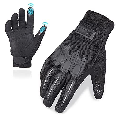 Cycling Gloves Full Finger Cut proof Gloves Breathable Touchscreen Airsoft Gloves for Men Women...