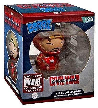 Funko-collector corps Marvel Dorbz Captain America Civil War : Unmasked Iron Man n° 128