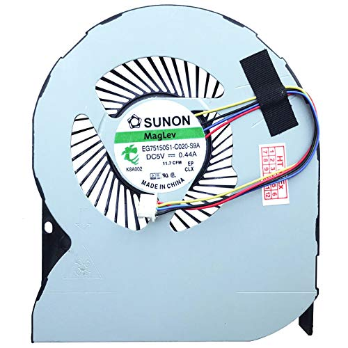 (CPU Version) Cooling Fan Cooler Compatible with Dell Precision 7510, 7520, M7510, M7520