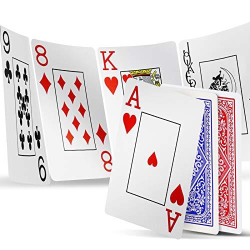 INTEGEAR Playing Cards 2 Decks Wate…