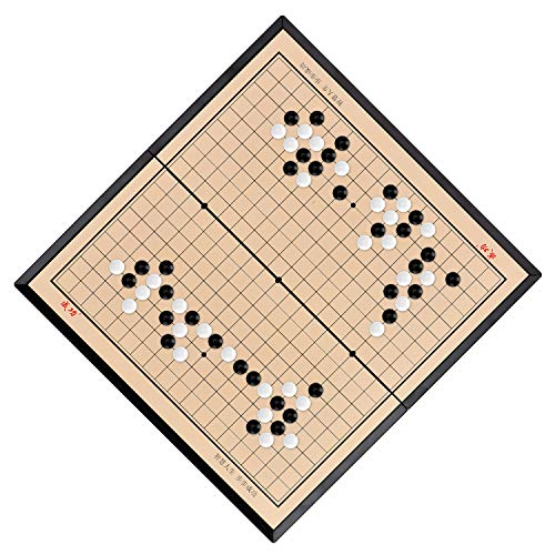 Juego de mesa Go magnético plegable Weiqi para niños y adultos