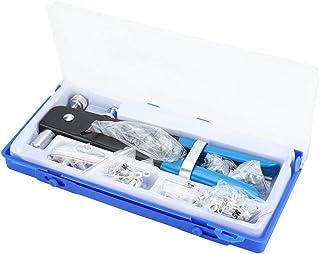 Nietzange, 86 teiliges Set für Nietpistole, manuelle Zange mit Muttern, Nietmaschine für Gewindeeinsätze von M3 bis M8.