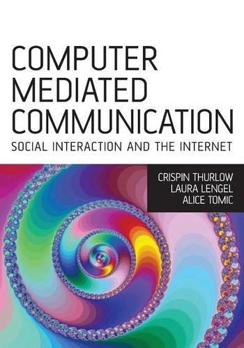 Computer Mediated Communication: Social Interaction and the Internet: Social Interaction Online