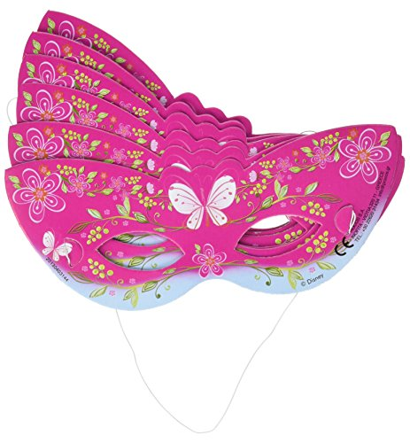 6 Masques Princesse Summer Palace™ Enfant