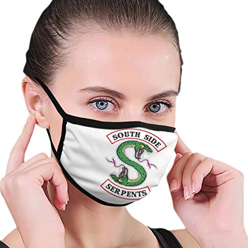 ghjkuyt412 Mouth Cover Face Cover Riverdale Fans Washable Mouth Cover Reusable Mouth Scarf Face Scarf for Kids Adults