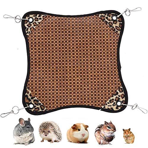 小動物用品 ハムスター ハンモック チンチラ ハンギングベッド 暑さ対策 夏 マット冷却タイル ひんやりマット