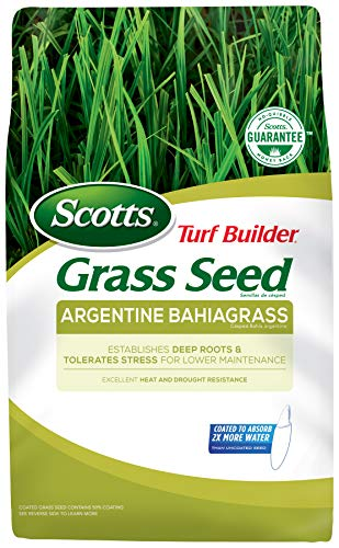 Scotts Turf Builder Grass Seed Argentine Bahiagrass, 5 lb. - Designed for Full Sun and Heat and...