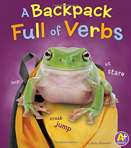 A Backpack Full of Verbs (Words I Know)