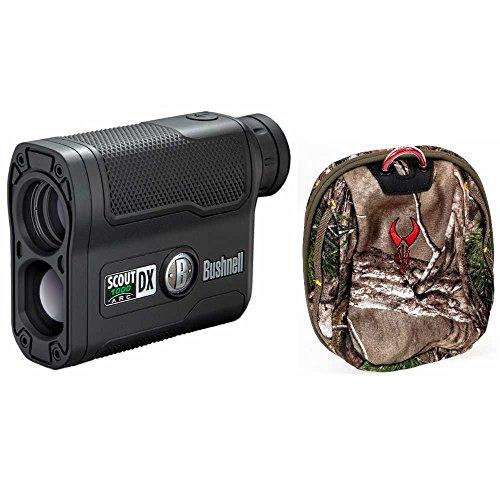 Bushnell 6x21 Scout DX 1000 ARC Laser Rangefinder (Black) & Badlands Case